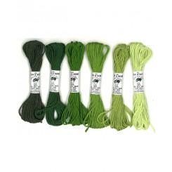 AVAS 6 Nuances de Vert