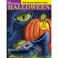 JUST CROSS STITCH - 2016 Special Halloween Issue