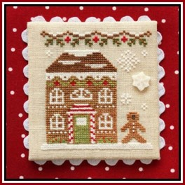Gingerbread Village 11 - GINGERBREAD HOUSE 8