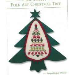 FOLK ART CHRISTMAS TREE