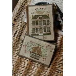 BOXWOOD MANOR DEWING BOOK & THREAD KEEP
