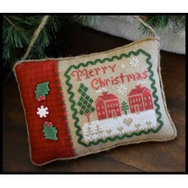 All Dolled Up - MERRY CHRISTMAS PILLOW