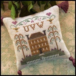 LITTLE HOUSE ABC SAMPLERS - No. 8 UVW