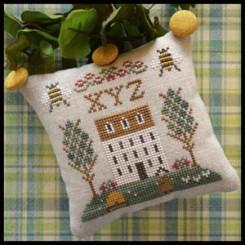 LITTLE HOUSE ABC SAMPLERS - No. 9 XYZ