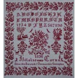 HELOISE CORNU 1896 - Version rot