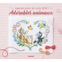 AGENDA 2018 - ADORABLE ANIMAUX
