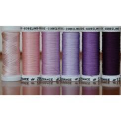 Pack 6 Nuances SOIE GOBELINS - Violet