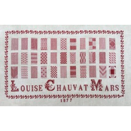 LOUISE CHAUVAT 1877