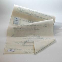 """Leinenband """"Gedicht"""" - 30 cm breit"""