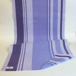 Leinenband hellviolett/violett - 45 cm breit