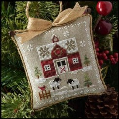 Farmhouse Christmas 1 - LITTLE RED BARN