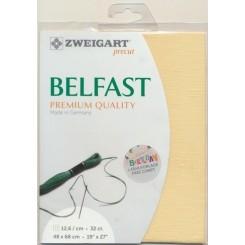 Zweigart Belfast Precut dunkelblau, 48x68 cm