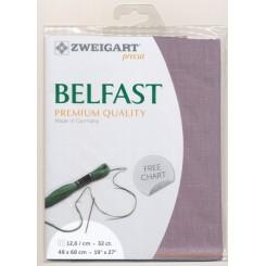 Zweigart Belfast lavendel, Precut 48x68 cm