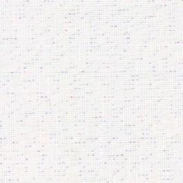 Zweigart Belfast Precut weiß/lurex, 48 x 68 cm