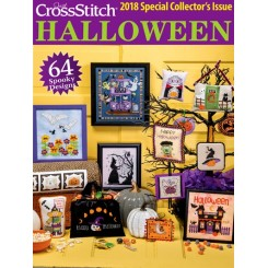 JUST CROSS STITCH - 2018 Special Halloween Issue