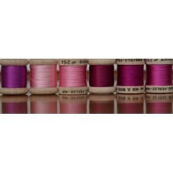 Pack 6 Nuances SOIE PERLÉE - pink