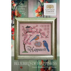 Songbird's Garden Series 5: BLUEBIRD OF HAPPINESS