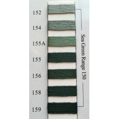 Needlepoint Inc Silk 152-159 - Sea Green