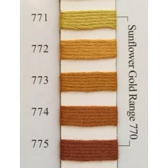 Needlepoint Inc Silk 771-775 - Sunflower Gold