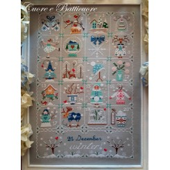 Shabby Winter Calendar