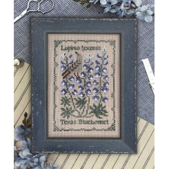Botanical Stitches - TEXAS BLUEBONNET