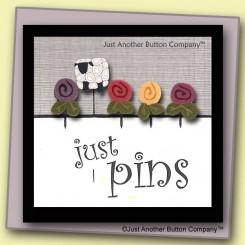 JABC Just Pins - Sheep in my Garden