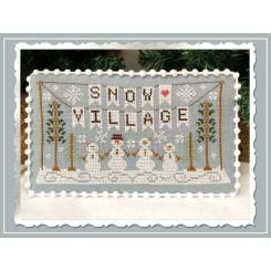 Snow Village - Banner