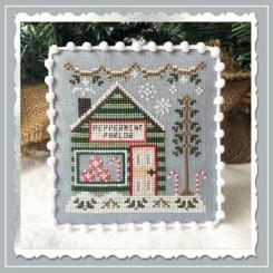 Snow Village 4 - Peppermint Parlor