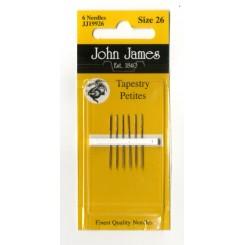John James Sticknadeln ohne Spitze, kurz - Nr. 26