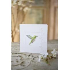 """Passepartout-Karte """"Kolibri"""""""