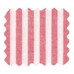 """Druckstoff """"red & white"""" - weiß-rot gestreift, 100 x 150 cm"""