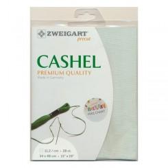Zweigart Cashel mint, Precut 48 x 68 cm