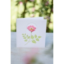 "Passepartout-Karte ""Rose"""
