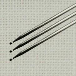 2 Sticknadeln mit Kugelspitze 44mm