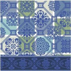 Die Farben der Niederlande - Delfter Blau