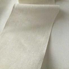 Leinenband weiß - 1,5 cm breit