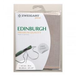 Zweigart Edinburgh nugat, Precut 48x68 cm