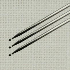 2 Sticknadeln mit Kugelspitze 37mm