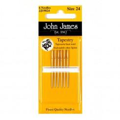 John James Sticknadeln ohne Spitze, Nr. 26