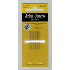 John James Sticknadeln ohne Spitze, kurz - Nr. 24