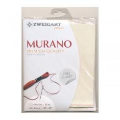 Zweigart Murano écru, Precut 48x68 cm