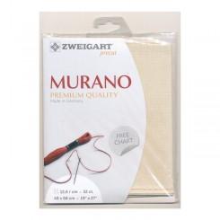 Zweigart Murano hellbeige, Precut 48x68 cm
