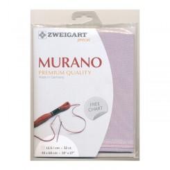 Zweigart Murano graubeige, Precut 48x68 cm