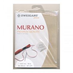 Zweigart Murano platin, Precut 48x68 cm