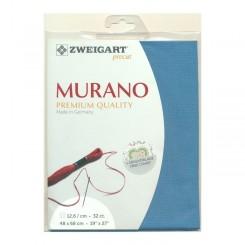 Zweigart Murano azur, Precut 48x68 cm