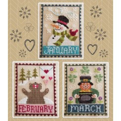 Monthly Trios: January, February, March