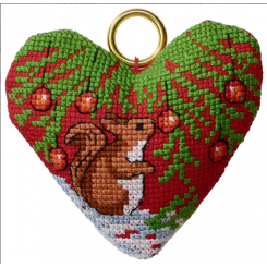 Weihnachtsstimmung - Kissen