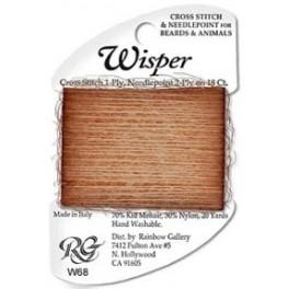 Wisper W68 - dark tan