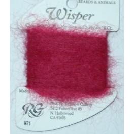 Wisper W71 - dark red