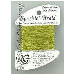Sparkle! Braid SK39 - Yello Green